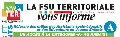 1f7af8aa4a3 Réforme des grilles des Assistants socio-éducatifs et des Educateurs ...